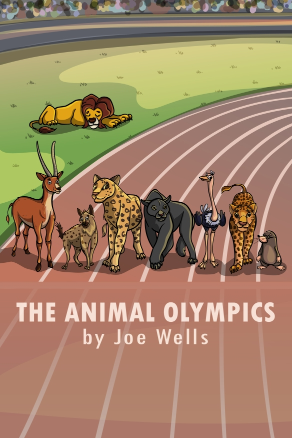 THE ANIMAL OLYMPICS COVER 2018